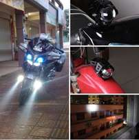 Motorcycle U5 LED High Bright Driving Spot Head Light 30W