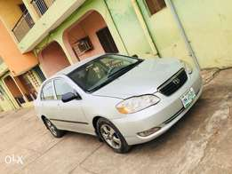 A very neatly used 2006 Toyota corolla for quick sale.