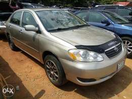 2005 Toyota Corolla Naija Used For N1.5M
