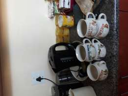 Soup cups,coffee maker food prossesor