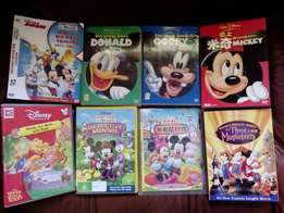 Mickey mouse DVDs set of 8