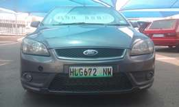 Ford Focus 2.0i with excellent power and take off