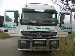 Commercial vehicle fleet branding.