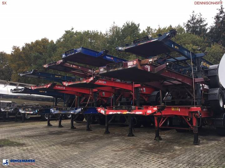 Dennison Stack - 3 x container trailer 20-40-45 ft - 2007
