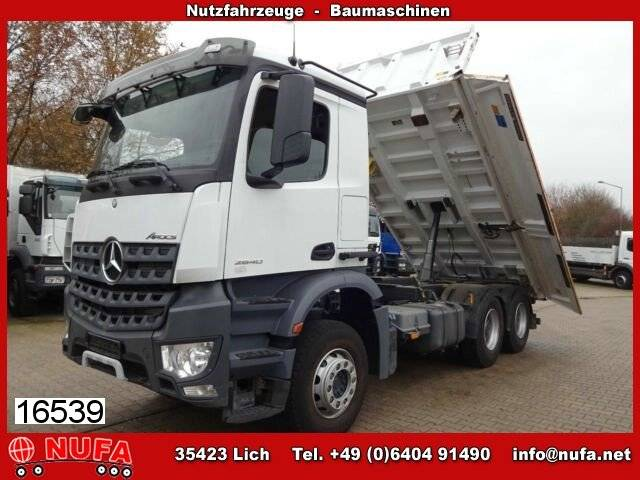 Mercedes-Benz Arocs 2640 LK Meiller Bordmatik links - 2014