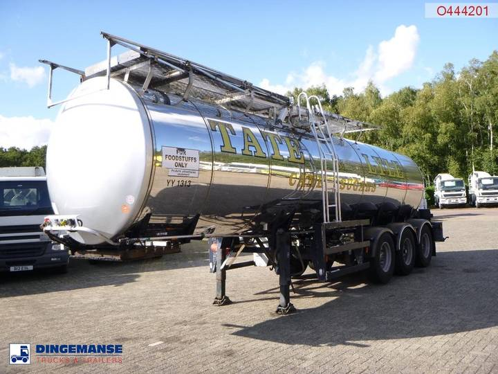 GENERAL TRAILER / Fruehauf Food tank inox 23.5 m3 / 1 comp + pump - 2000