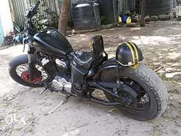 Honda steed 400 bobber for sale or trade in with a decent offroad