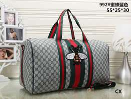 Gucci travelling bags