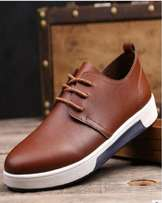 British Fashion Leisure Breathable Men's Sneakers – Brown