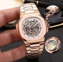 New Patek philippe rose gold nautilus wrist watch