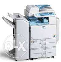 Flash copiers