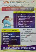 We Do Recruitment Of Various Categories Of Staff