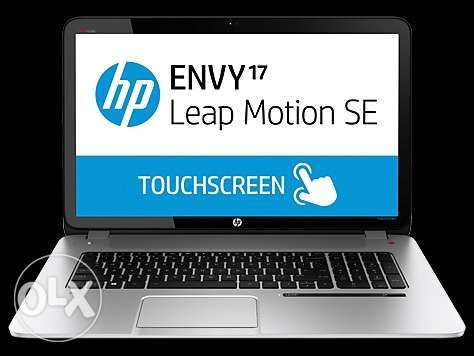 HP ENVY 17 Leapmotion touch screen