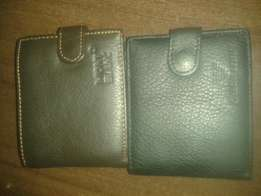 Mont Blanc mens leather wallet.