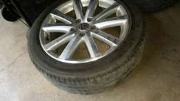 17 inch VW Passat 5/112 rims and tyres (wheels) for sale