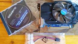 Gigabyte GTX 750 (1GB DDR5) OC edition - perfect condition!
