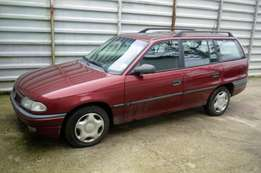 opel astra long booth wine color