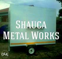 Shauca Metal Works (custom trailers and mobile kitchens/bars)