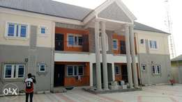 A standard two bedroom flat 2 rent at NTA road.