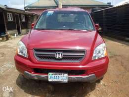 Super clean Nigerian used Honda Pilot 2003 Model