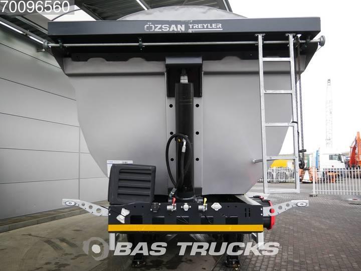 Ozsan 24m3 Stahlkipper 2x SAF Liftachse WABCO - 2019 - image 6
