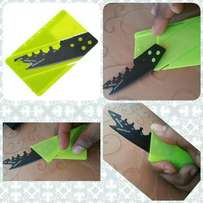 Credit card knife mini wallet outdoor pocket knife
