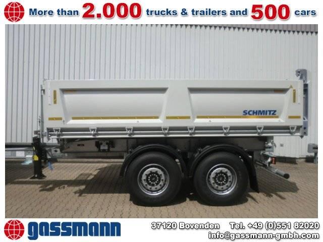 Schmitz Cargobull ZKI 18-4.9 Stahlbordwände, ca. 10,3 cbm - 2018