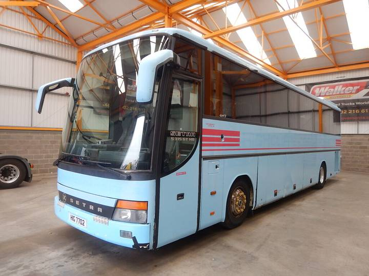 Mercedes-Benz SETRA/MERCEDES V8 S315 GT HD 4 X 2, 49 SEATER COACH - 2001 - - 2001