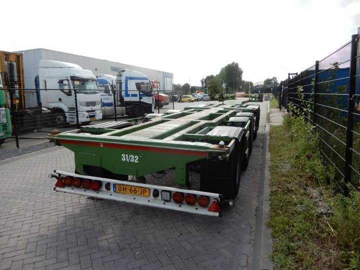 D-tec CT-53-05D / Combi trailer / 5 axles / NL trailer - 2003