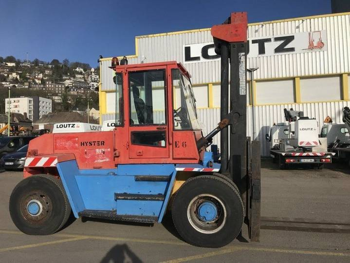 Hyster h10.00xl - 1992