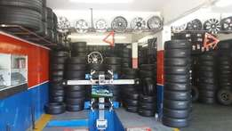 Mag repairs and second hand tyres