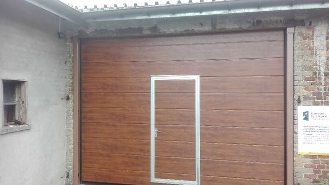 Genialny Brama garażowa bramy segmentowe drzwi garażowe Kocmyrzów • OLX.pl XX15