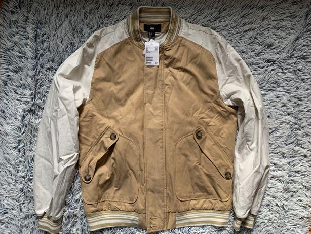 H&M Kurtka BEJSBOLÓWKA bluza męska M nowa Zdjęcie na imgED