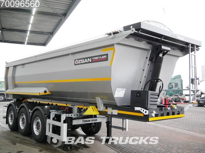 Ozsan 24m3 Stahlkipper 2x SAF Liftachse WABCO - 2019 - image 5