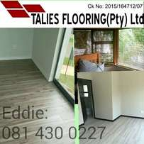 Laminate flooring and Blinds