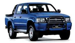 Toyota Hilux Wanted.