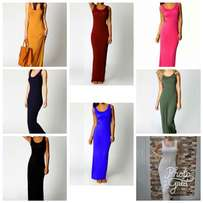 Long body hugging dresses