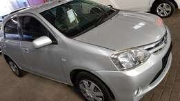 **2013 Toyota Etios 1.5Xs/Sprint** Quick Sale** Only 69500km**