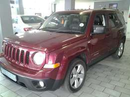 2013 Jeep patriot 2.4 Dual VVT Auto for sale R155000