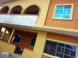 Newly built 3 bedroom flat, tiled all at behind Nig brewery Ibadan.