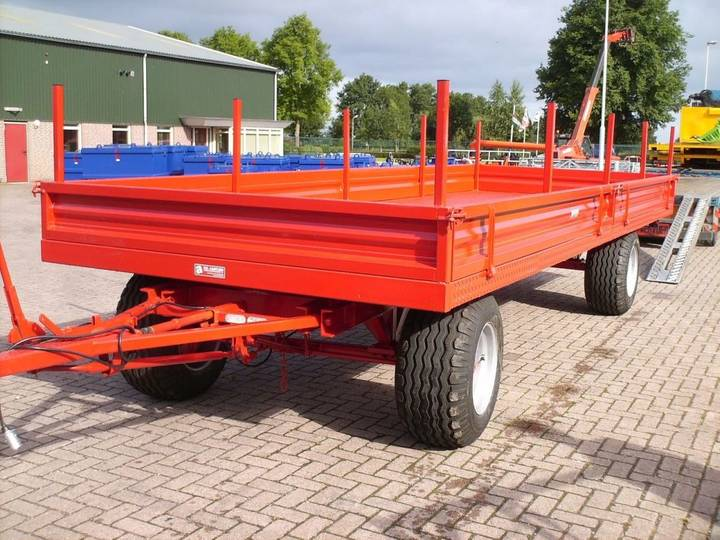 Transport 642   aanhangers flatbed trailer