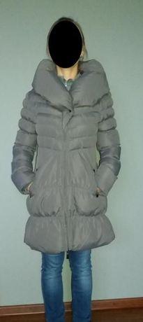 Płaszcz puchowy orsay szary