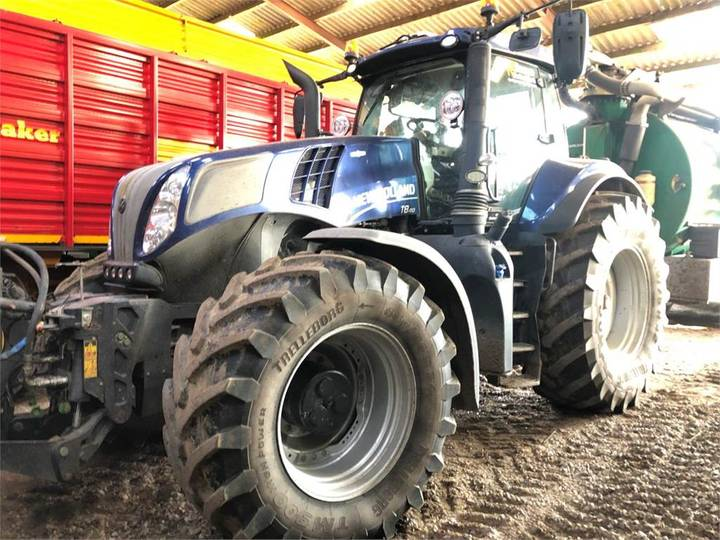 New Holland T8.410ac - 2018