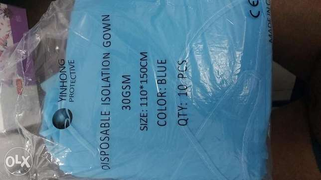 Isolation gown 30 GSM available for sale