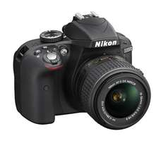 Nikon D3300 DSLR Camera, with 1 year warranty
