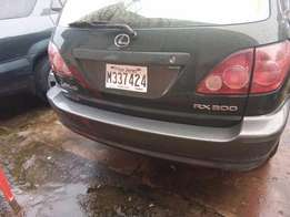 Tin can cleared 1999 Lexus Rx 300 for sale in benin city, edo state