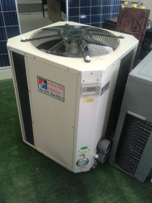 New 35KVA Swimming Pool Heat Pump For A 55m3