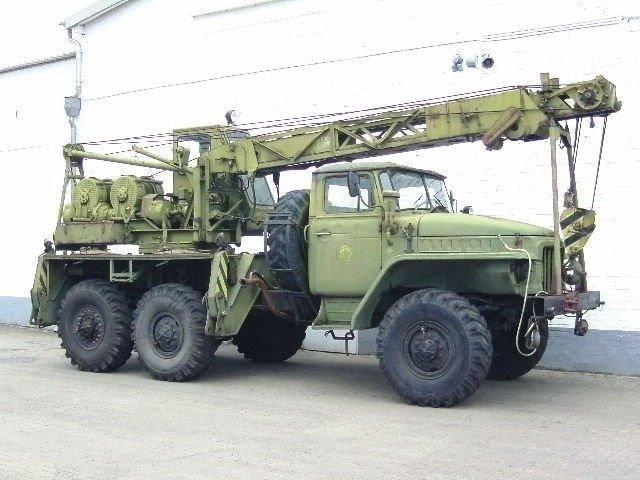 Ural 375 D D 6x6