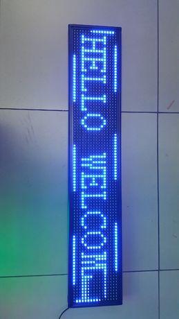 Fantastyczny Tablica led * świetlna *reklama * niebieska *mix kolorów *zielona CV76
