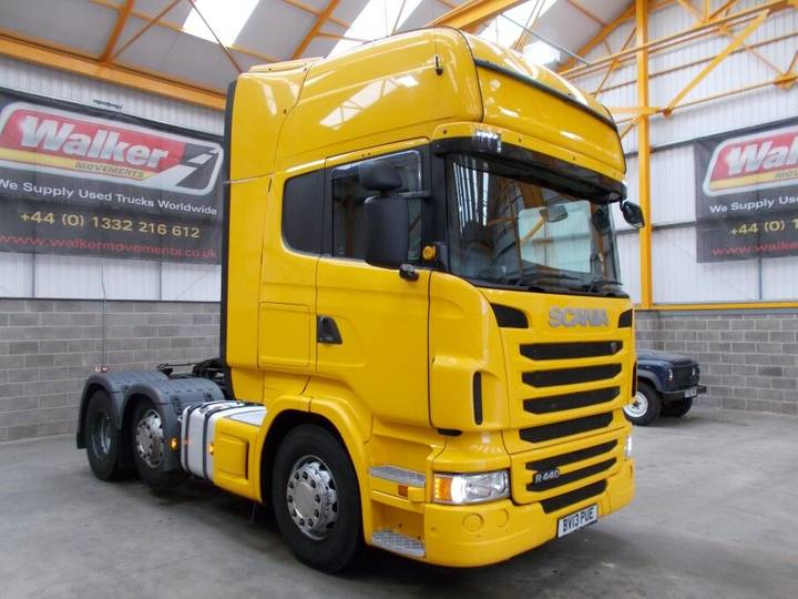 Scania R440 TOPLINE - 2013
